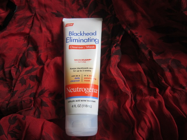 Neutrogena Blackhead Eliminating Cleanser Mask Review