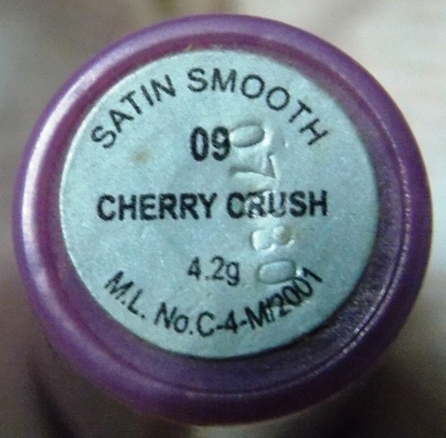 Street Wear Satin Smooth lipcolor 3 cherry crush