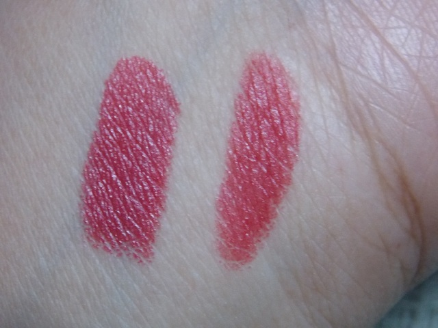 Street Wear Satin Smooth lipcolor cherry crush swatches