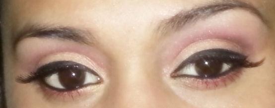 Subtle Red Gold Party Eye Makeup Tutorial