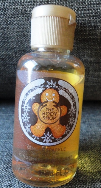 The Body Shop Ginger Sparkle Shower Gel Review