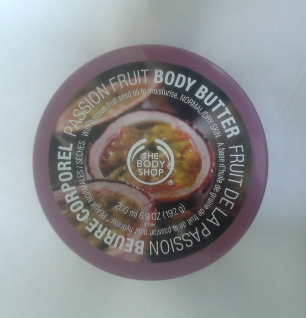 The Body Shop Passion Fruit Body Butter Review