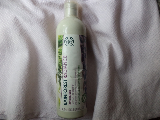 The body shop rainforest radiance conditoner