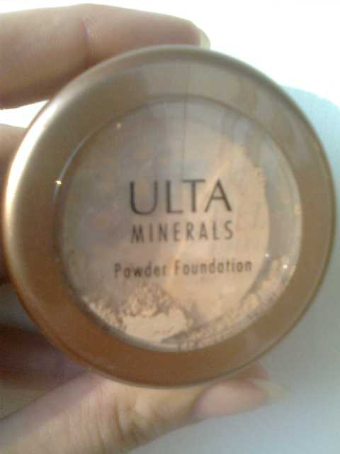 Ulta minerals powder foundation