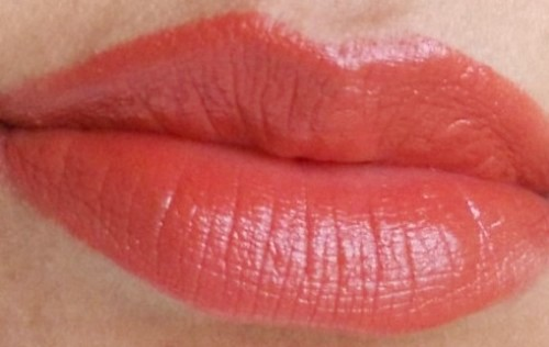 chambor rouge plump+ lipstick 701 lip swatch 1