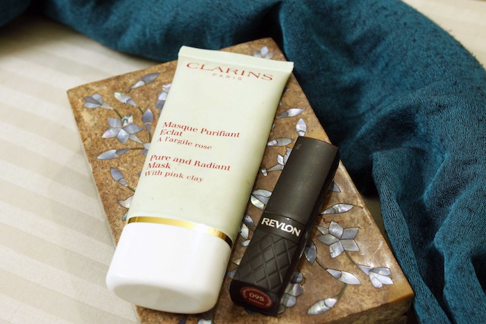 clarins pure radiant face mask