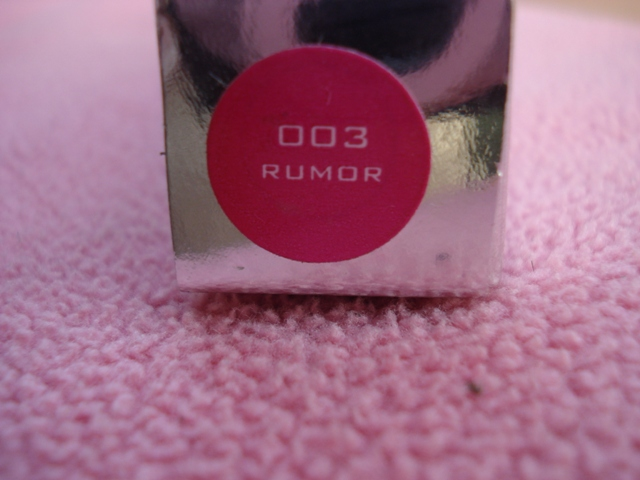 colorbar perfect pout gloss rumor