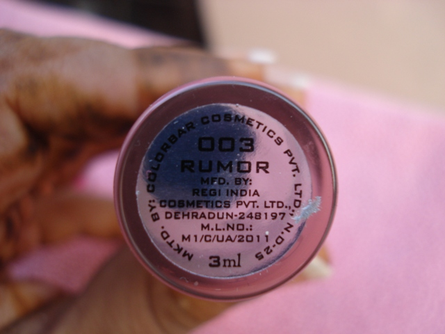 colorbar perfect pout lip gloss rumor 3