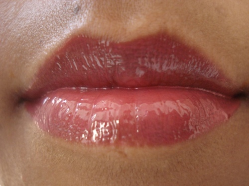 colorbar perfect pout lip gloss rumor lotd