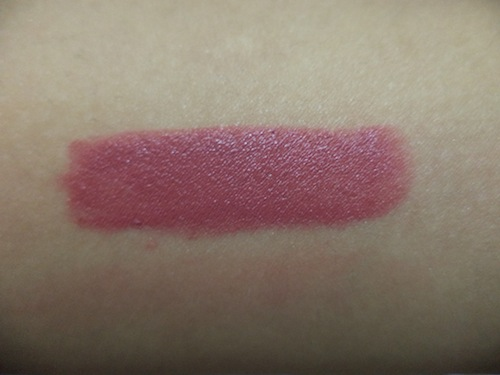 colorbar soft touch lipstick rose quartz swatch