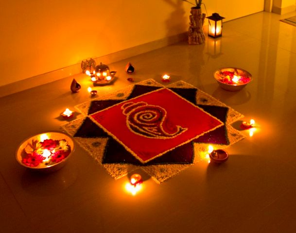 Celebrating diwali in a unique way for Home decorations in diwali