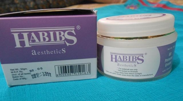 habib aesthetics all purposecream
