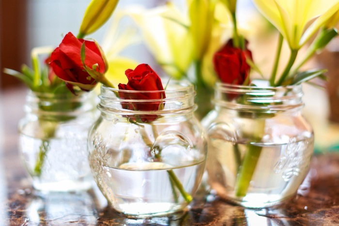 home decor roses