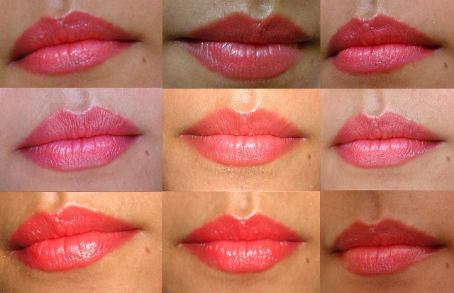 inglot lipstick 231 shade lip swatch