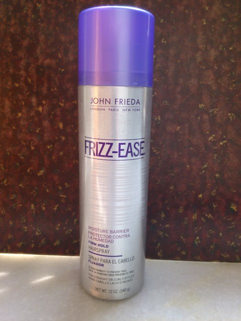 john frieda frizz ease firm hold hair spray