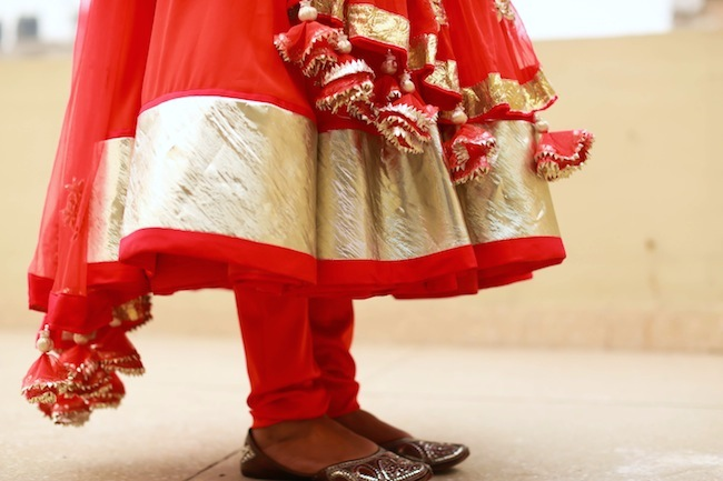 karwachauth dress