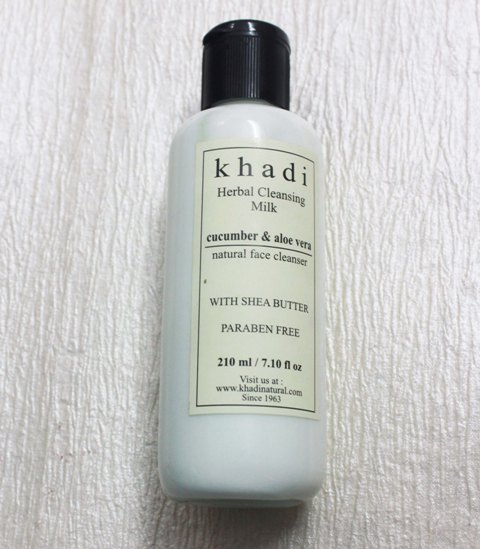 khadi herbal cleansing milk
