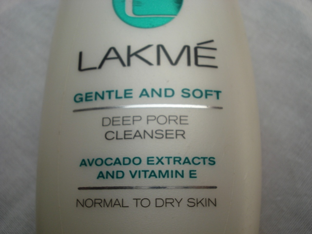 lakme gentle and soft deep pore cleanser 2