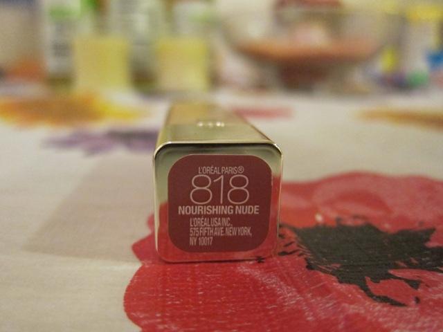 loreal color riche nourishing nude lip balm