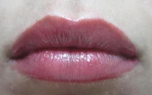 loreal infallible gloss glistening berry lotd