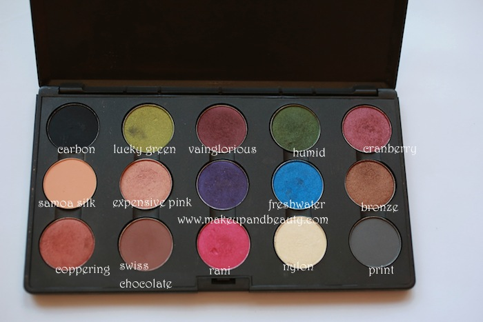 mac color eyeshadow swatches