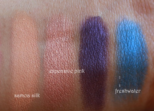 mac eye shadows