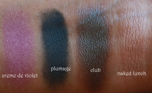 mac indian eyeshadows