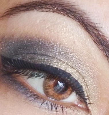maybelline color tattoo bold gold eotd