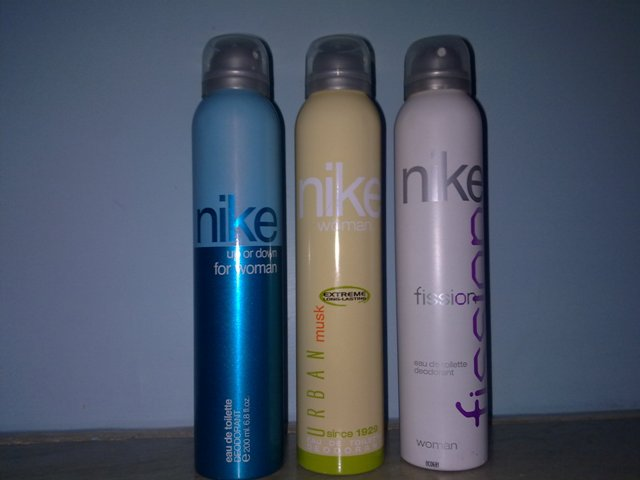 nike woman deodorants