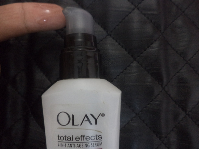olay total effects anti ageing serum