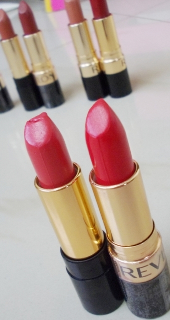 revlon certainly red, cha cha cherry