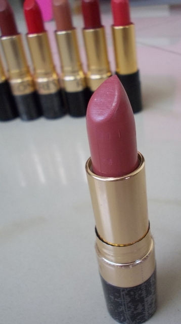 7 Revlon Super Lustrous Lipsticks From My Collection