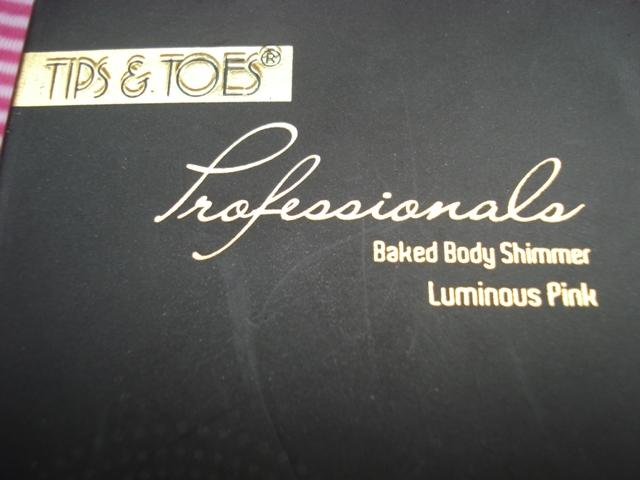 tips&toes baked Body shimmer luminous pink