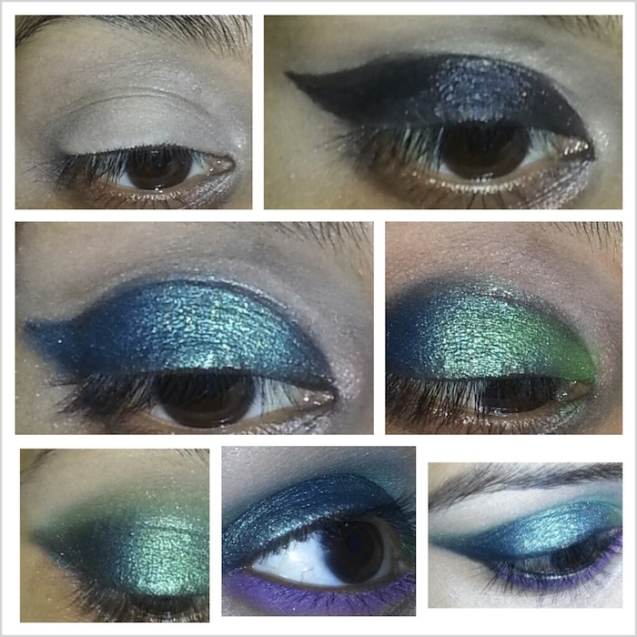 Mermaid inspired look