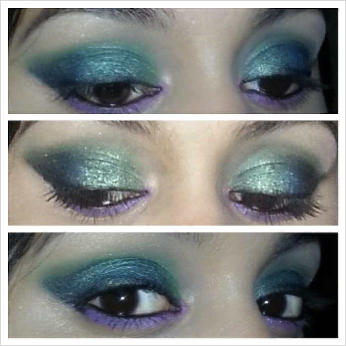 07 Disney's Mermaid Ariel Inspired Eye Makeup Tutorial
