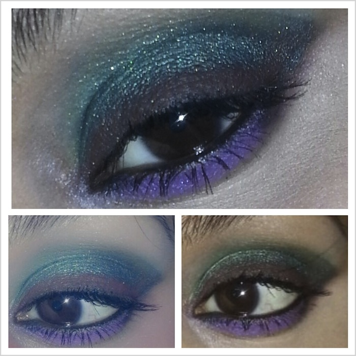 08 Disney's Mermaid Ariel Inspired Eye Makeup Tutorial