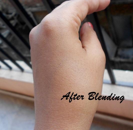 After Blending BB Cream
