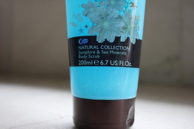 Boots Natural Collection Samphire &Sea Minerals-Body Scrub (2)