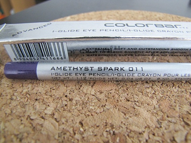 Colorbar I Glide Eye pencil in Amethyst Spark5