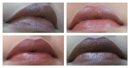 nude brown lips