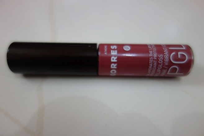 Korres Cherry Lip Gloss Natural Purple Review