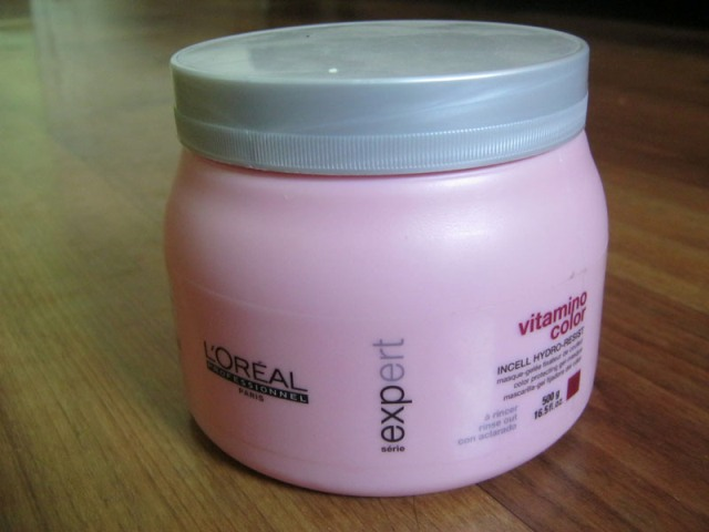 L'Oreal Serie Expert Vitamino Color Masque Review