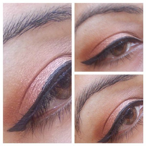 Lakme day shimmer eyeshadow eotd