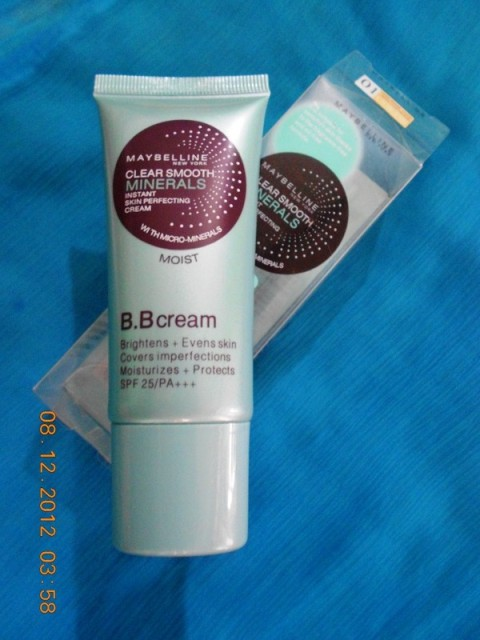 Maybelline Clear Smooth Minerals Instant Skin Perfecting BB Cream Review