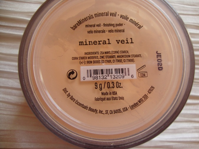 Bare Minerals Mineral Veil Review