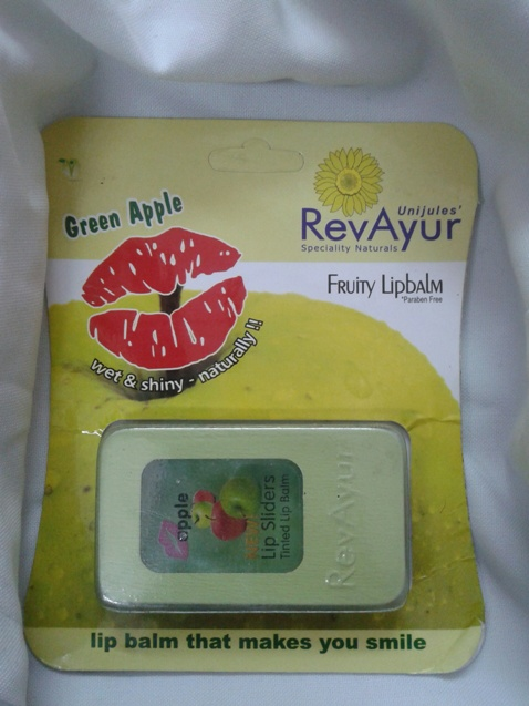 Revayur Tinted Lip Balm in Green Apple Review
