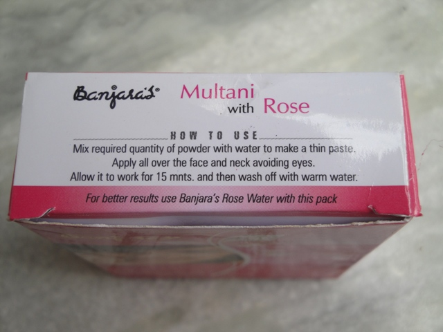 Rose Face Pack 2