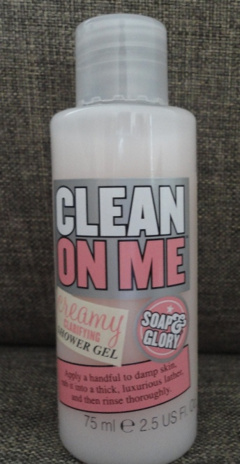 Soap and Glory Clean On Me Creamy Clarifying Shower Gel Review