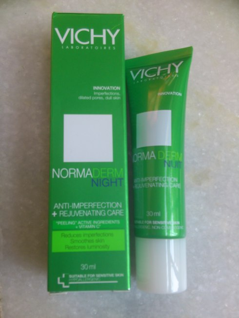 Vichy Normaderm Night Anti Imperfection Rejuvenating Care Review