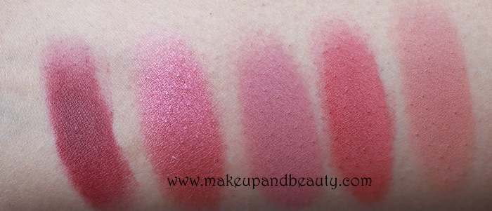 MAC Mauve Blush Swatches
